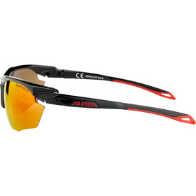 Alpina Twist Five HR CM+ Bril, zwart/rood